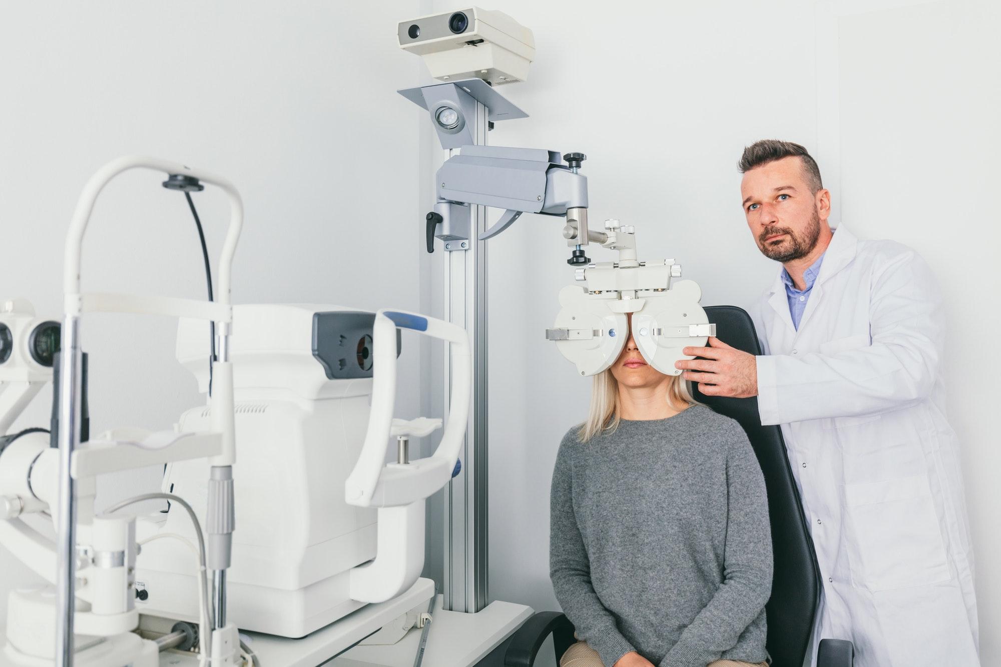 Badania wzroku w Warszawie